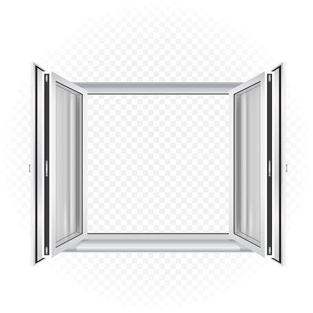open window template
