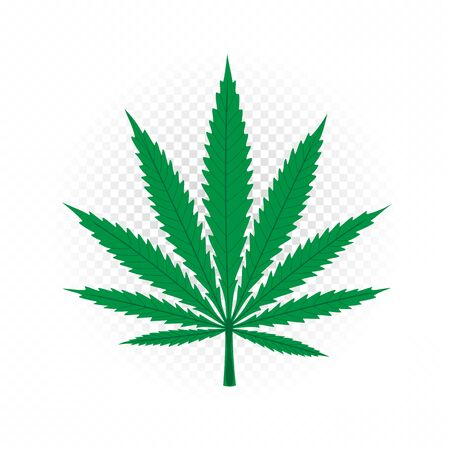 cannabis sign symbol icon illustration