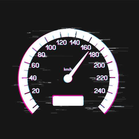 car speed interface glitch design