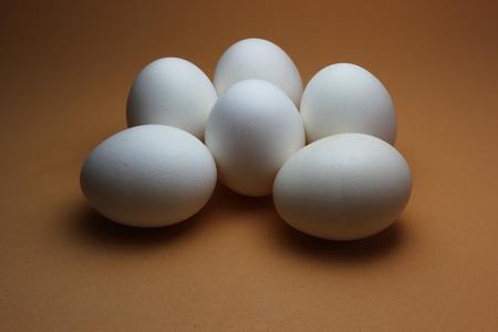 Half a dozen eggs in display Imagens - 46246437