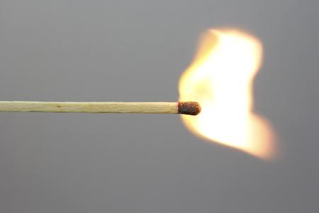 match on fire Фото со стока
