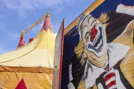 freaky: Circus and clowns are fun and freaky fantasy.