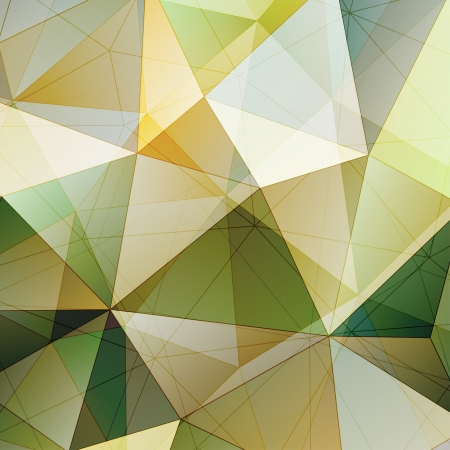 Color Triangle Abstract Background. Vector Pattern of Geometric Shapes Stock Vector - 22273146