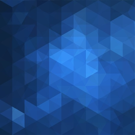 Blue Triangle Abstract Background   Pattern of Geometric Shapes,