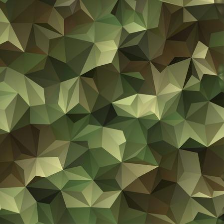 기하학적 삼각형 모양의 추상적 인 군사 위장 배경 스톡 콘텐츠