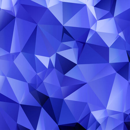 Blue Triangle Abstract Background.  Vector