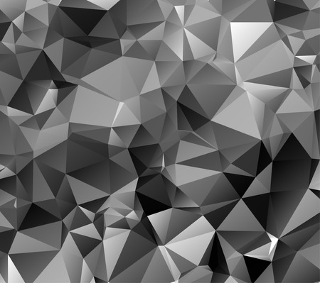 Black Triangle Abstract Background. Vector Pattern of Geometric Shapes Vector