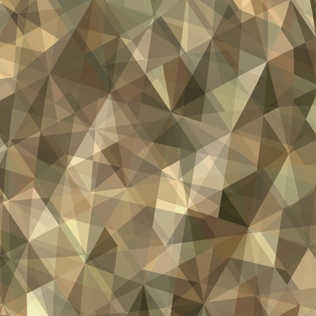 Brown Triangle Abstract Background. Vector Pattern of Geometric Shapes, EPS10 Vector