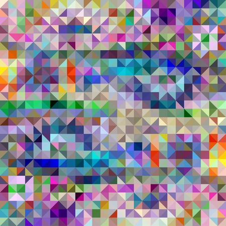 Colorful Triangle Abstract Background. Vector Pattern of Colored Geometric Shapes Vector