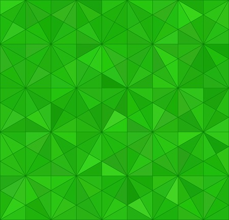 Green Triangle Abstract Background. Vector Pattern of Geometric Shapes Vector