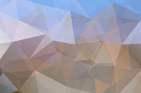 Colorful Triangle Abstract Background. Vector Pattern of Colored Geometric Shapes Illustration