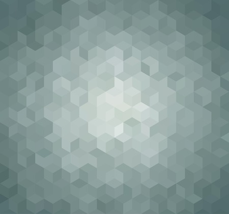 vintage backgrounds: Blue Triangle Abstract Background. Vector Pattern of Geometric Shapes