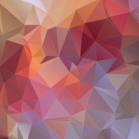 Colorful Triangle Abstract Background. Vector Pattern of Colored Geometric Shapes 向量圖像