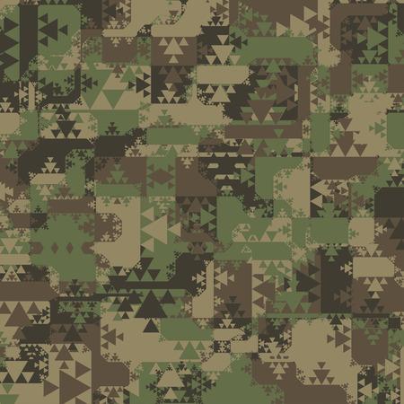 camuflaje: Resumen Antecedentes Vector Militar Camuflaje De Tri�ngulos geom�tricos Formas