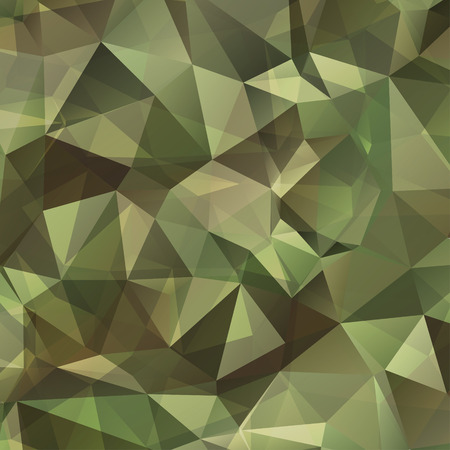 Abstract Vector Military Camouflage Background Made of Geometric Triangles Shapes 版權商用圖片 - 39787123