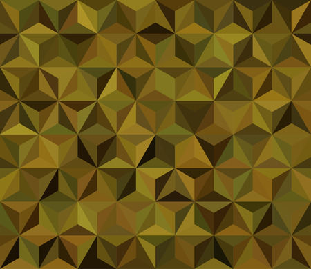 Abstract Seamless Vector Military Camouflage Background Made of Geometric Triangles Shapes 向量圖像