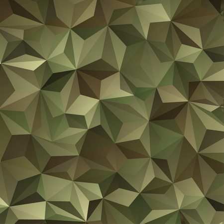 military forces: Abstract Vector Military Camouflage Background Made of Geometric Triangles Shapes