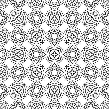 seamless geometric: Astratto senza soluzione di continuit� Wallpaper geometrica islamica.