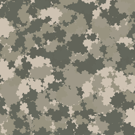 camouflage clothing: Abstract Vector Military Camouflage Background Made of Splash