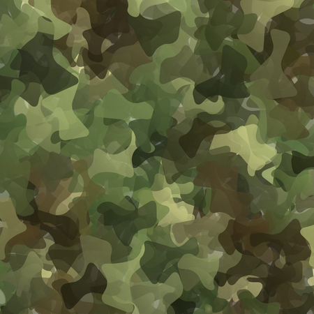 Abstract Vector Military Camouflage Background Made of Splash