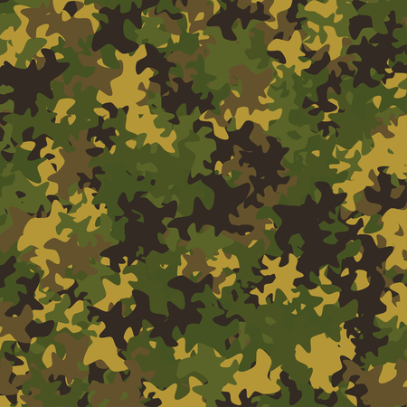 army background: Abstract Vector Military Camouflage Background Made of Splash
