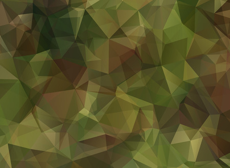 khaki: Abstract Military Camouflage Background Made of Geometric Triangles Shapes