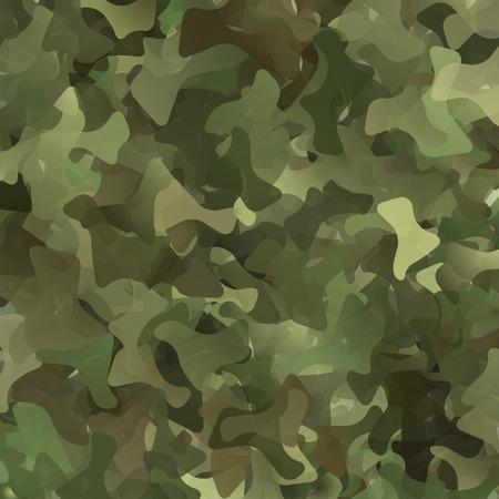 スプラッシュの作られたミリタリー迷彩の抽象的なベクトルの背景