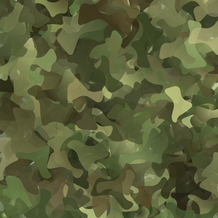 army: Abstract Vector Military Camouflage Background Made of Splash
