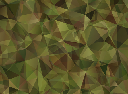 military: Abstract Military Camouflage Background Made of Geometric Triangles Shapes