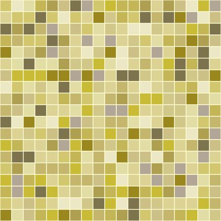 Los azulejos de mosaico la textura del modelo del vector. Pixel plaza de fondo sin fisuras