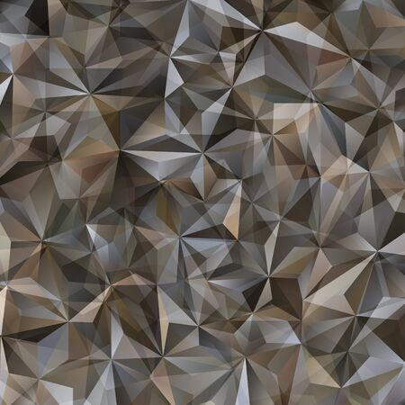 Gray Triangle Abstract Background. Vector Pattern of Geometric Shapes
