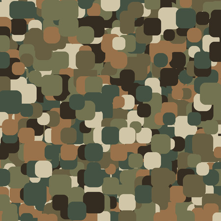 hid: Abstract Vector Military Camouflage Background Made of Splash