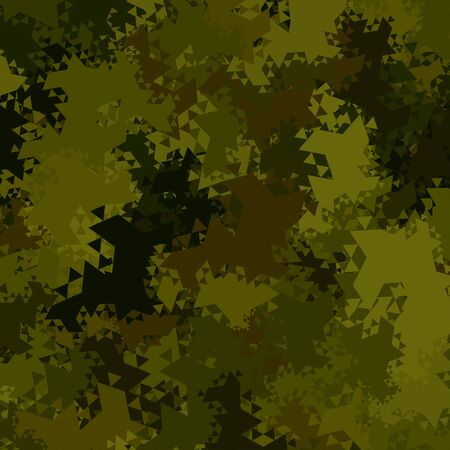 army background: Abstract Military Camouflage Background Made of Geometric Triangles Shapes