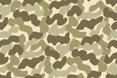 camo: Abstract Vector Military Camouflage Background. Seamless Camo Pattern for Army Clothing.