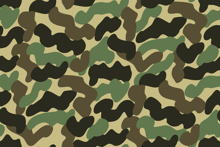 camouflage clothing: Abstract Vector Military Camouflage Background Made of Splash. Seamless Camo Pattern for Army Clothing.