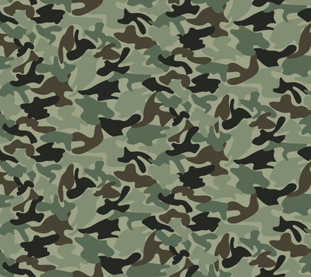 camouflage clothing: Abstract Military Camouflage Background Made of Splash. Seamless Camo Pattern for Army Clothing.