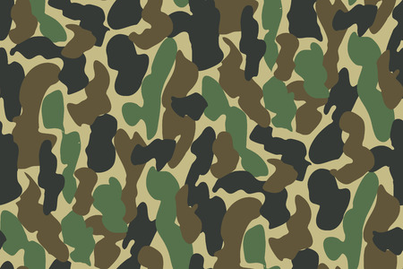 hid: Abstract Military Camouflage Background Made of Splash. Seamless Camo Pattern for Army Clothing.