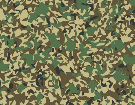 Abstract Military Camouflage Background Made of Splash. Camo Pattern for Army Clothing. 版權商用圖片 - 126662977