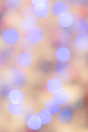 クリスマス ツリーを飾るためにライトのボケ味。美しいイラストや背景としても使えるぼかしを来た撮影でした。