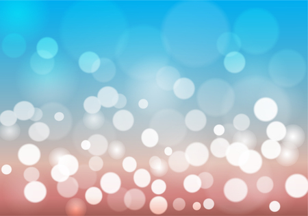 Bokeh stars round and blur as the abstract And the emotion sky and sand. background. The vivid and bright and feels loved and used as a backdrop.