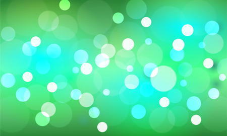 Bokeh stars  and blur as the abstract and green background. and Look lively and look bright and feel the universe and  as a backdrop.