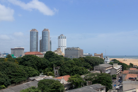 view at Colombo district Sri Lanka