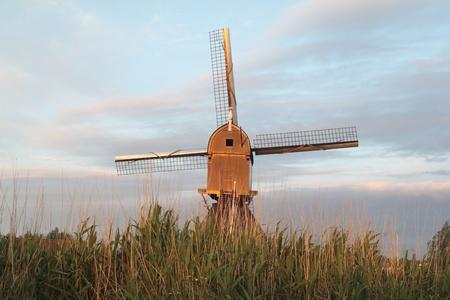 Windmill Holland Stock Photo