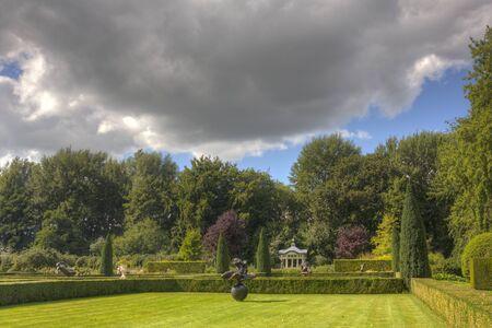 Garden Estate Borg Verhildersum, Netherlands Stock Photo