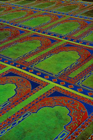 Carpet in Egypt Stock Photo