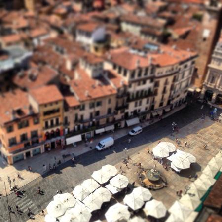 view: Beautiful view of Verona