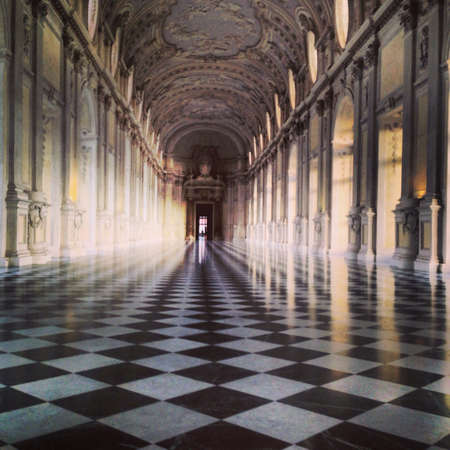 diana: Beautiful view of the Diana gallery in Venaria
