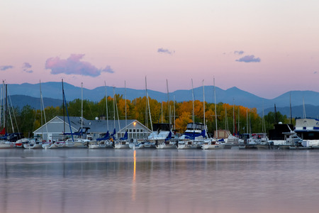 chatfield: Morning sunrise on the Chatfield Marina at Chatfield State park in Colorado