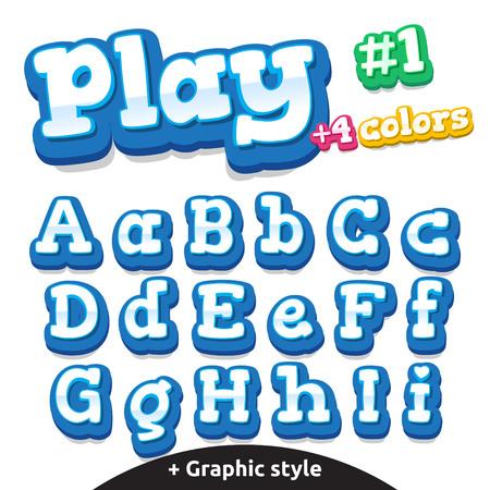 stile: Video gioco bimbi lettere.