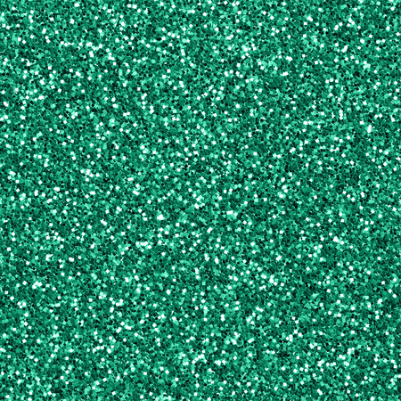 Seamless green glitter textured background Stock Photo